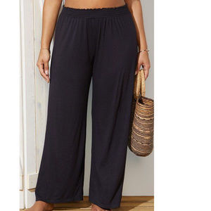 Swimsuits For All Dena Knit Beach Coverup Pants !